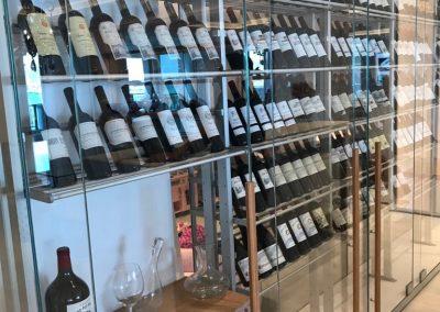 Steller wine cellar